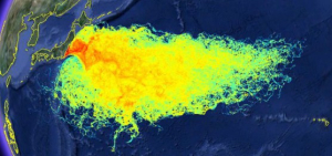 RADIATION PLUME, POST-FUKUSHIMA