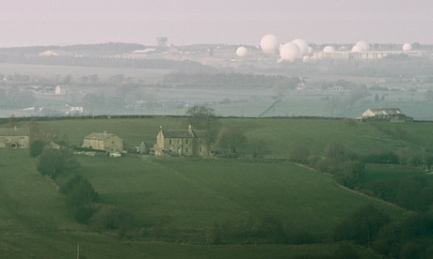 An English Landscape (American Surveillance Base near Harrogate, Yorkshire artwork