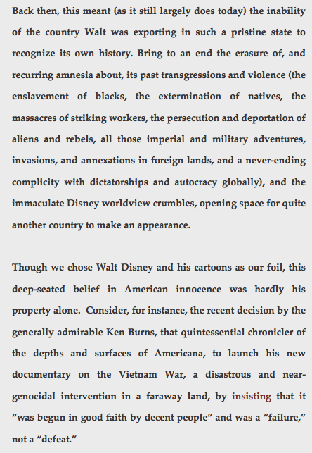 disney and us imperialism essay