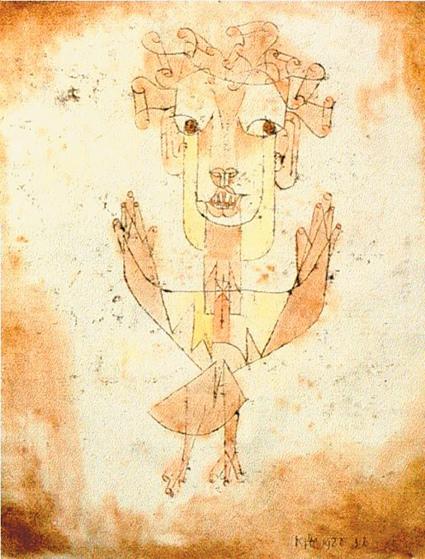 Paul Klee: <i>Angelus Novus</i>, 1920